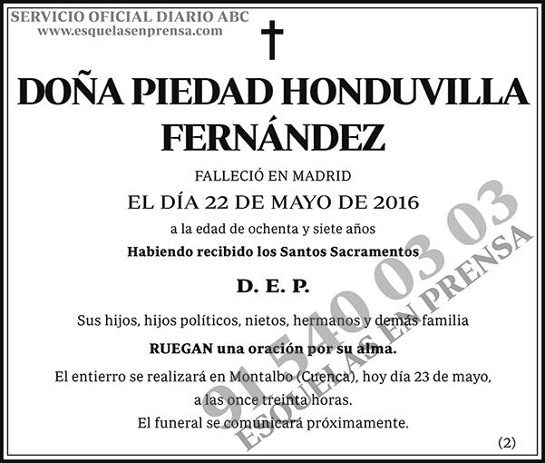 Piedad Honduvilla Fernández